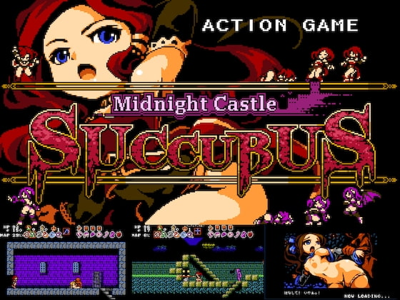 Midnight Castle Succubus poster