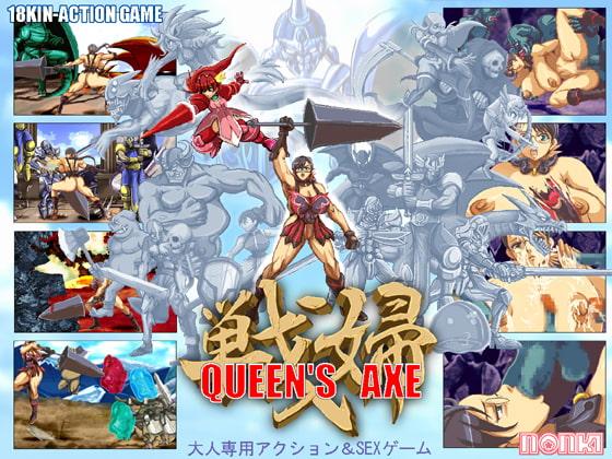 QUEEN'S AXE poster