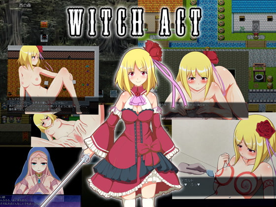 WITCH ACT poster