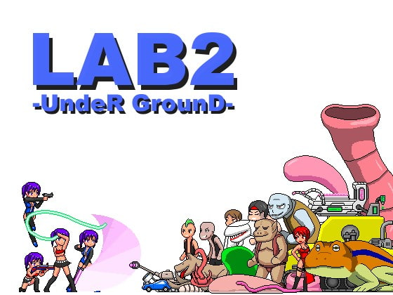 LAB2-UndeR GrounD- poster