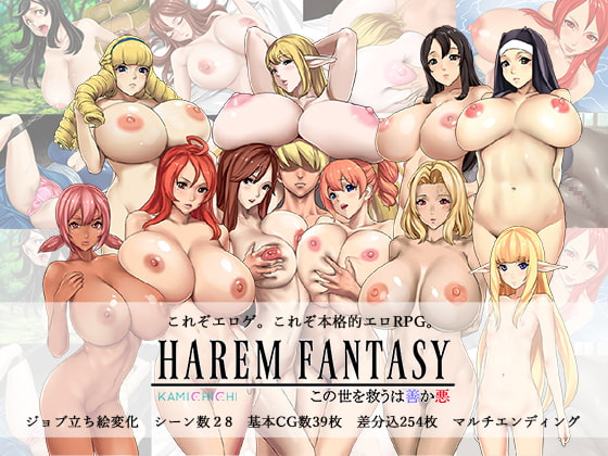 Harem Fantasy: Good or evil will save the world poster