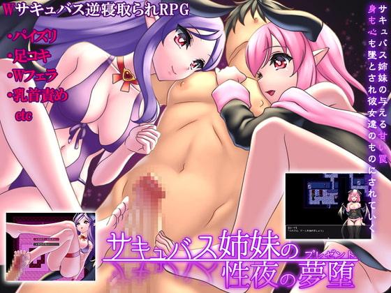 サキュバス姉妹の性夜の夢堕 poster