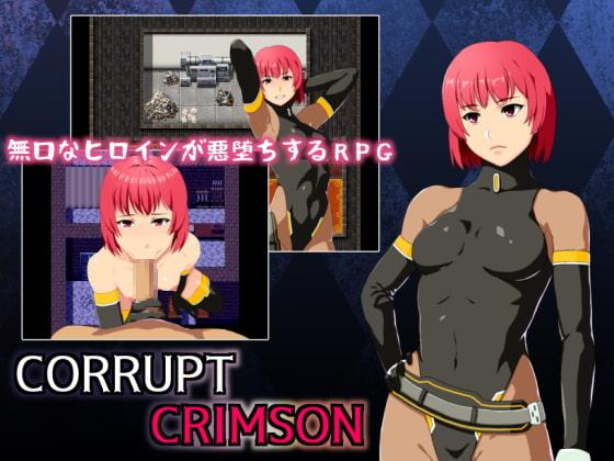 CORRUPT CRIMSON poster