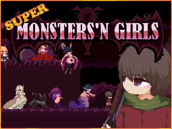 Super Monsters'n Girls poster