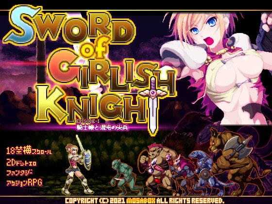 Sword of Girlish Knight poster