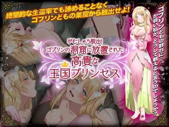 がむしゃら脱出!ゴブリンの洞窟に放置された高貴な王国プリンセス poster
